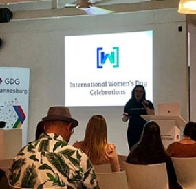 GDG Johannesburg MeetUp - IWD Women TechMakers Talks
